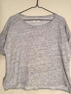 XS Madewell grey top