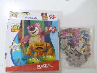 全新 Disney 迪士尼 巴斯光年 砌圖 拼圖 Puzzle
