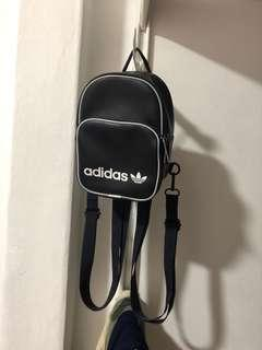 adidas classic navy mini backpack