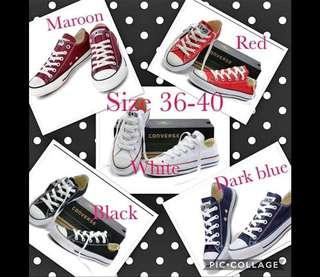 High qualty converse shoes size 36 37 38 39 40