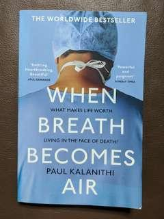 🚚 When Breath Becomes Air by Paul Kalanithi