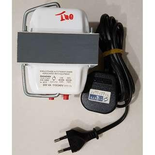 Step-down transformer (220v to 110v)