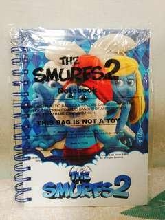 🚚 [全新未拆] 藍色小精靈 正版週邊-筆記本