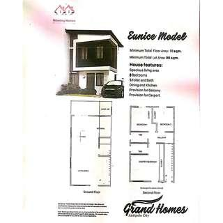 18 Months to pay Downpayment House and Lot For Sale  near Ynares and Shopwise Antipolo