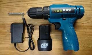 12V 鋰電充電批/電鑽 (雙速)