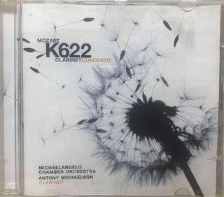 K622 Mozart Clarinet Concerto