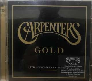 Carpenters Gold 35th anniversary edition 2 CDs