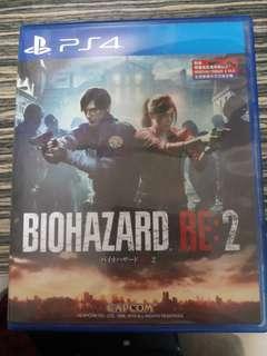 PS4 Biohazard Resident Evil 2 生化危機2
