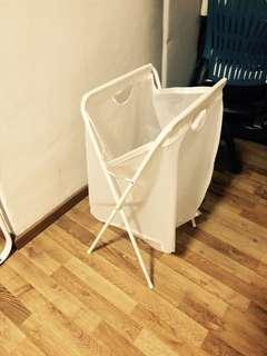 Foldable IKEA laundry basket