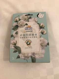 台灣直送 熊寶貝衣物香氛袋 「經典山茶花」