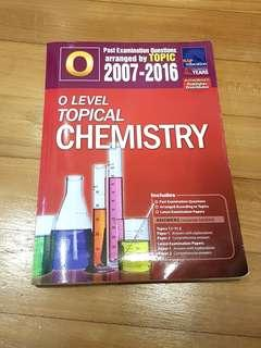 O level topical chemistry 2007-2016