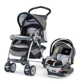 Chicco Cortina Keyfit 30 Travel System (Stroller + Carseat)