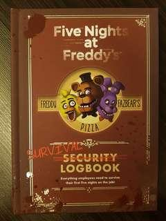 🚚 016. Five Nights at Freddy's: Survival Logbook, By Scott  Cawthon