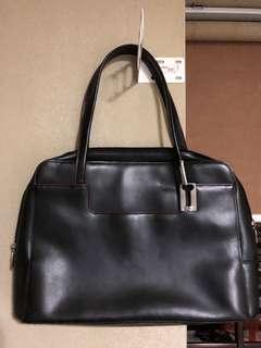 Leather Bag / Braun Buffel handbag