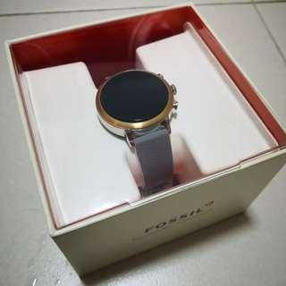 Fossil Gen 4 Rose Gold Venture Smartwatch (with Silver Sides) FTW6016