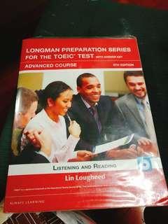 🚚 [TOEIC多益] Longman preparation series (advanced) 五成新