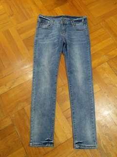 """超平快閃~Blue Jeans 全新 牛仔褲 小腳褲 低腰32吋 low waist 32"""""""