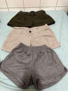 🚚 短褲三件50元