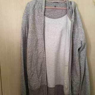 Uniqlo Grey Jacket
