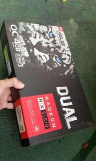 ASUS Dual series Radeon RX 580 OC edition