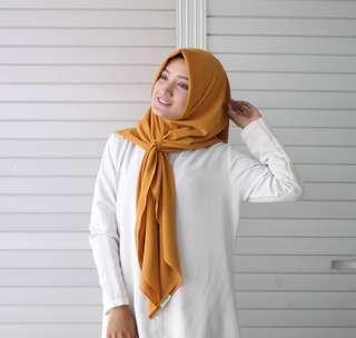 Jilbab Instan Segi4 by Ashascarf