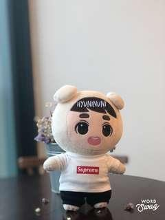 [READYSTOCK] Supreme T-Shirt 20cm doll clothes