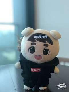 [READYSTOCK] Supreme Hoodie Black 20cm doll clothes