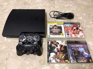 Sony Playstation 3 Slim 320gb (CECH-2506B) PS3