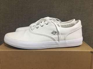 Sperry wahoo saturated white