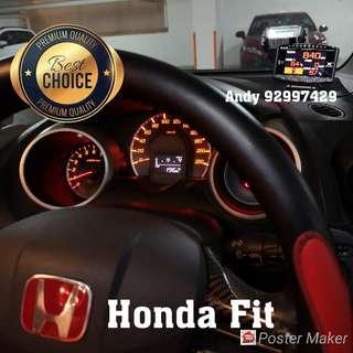 Honda Fit Lufi X1 Revolution OBD OBD2 Gauge Meter display