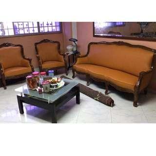 Repair and Refurbishment of Sofa / Arm Chair