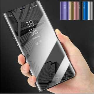 Samsung S10/S10+/S10e Electroplated Mirror Flip Case