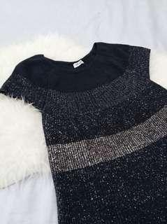 Sale!! Glittering Knit Top