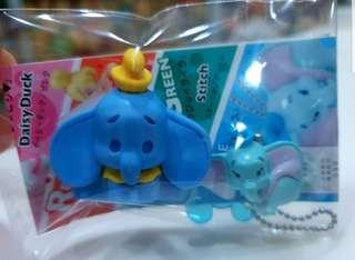 🚚 BN TWO Japan Disney Dumbo the Flying Elephant Figure Mascot Accessory Keychain Charm