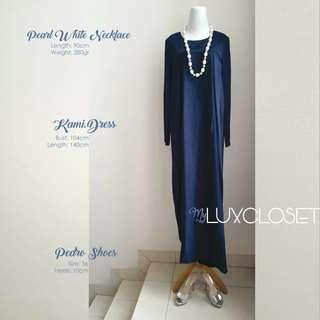 Kami Navy Blue Dress