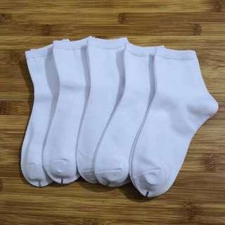 返學白襪  13-15cm