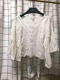 American eagle outfitters 白色lace top