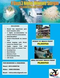 4d3n Ultimate Siargao Land Package with Sugba Lagoon