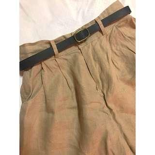 Nava Brown Shorts