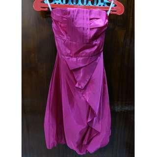 Pre-Loved Pink Dress / Baju Pesta warna Pink. Baca deskipsi dibawah.
