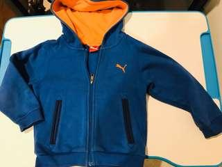 PUMA hoodie jacket for 2 to 5 yrs old