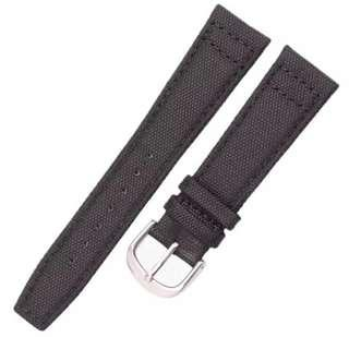 SALE 21mm Black Canvas Watch Straps