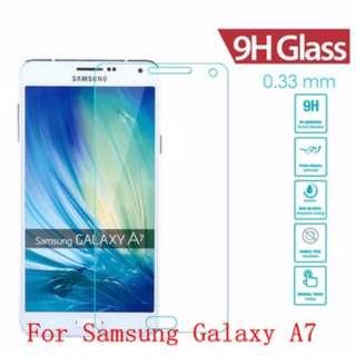 Samsung Galaxy A7 2017/2015 Tempered Glass Screen Protector