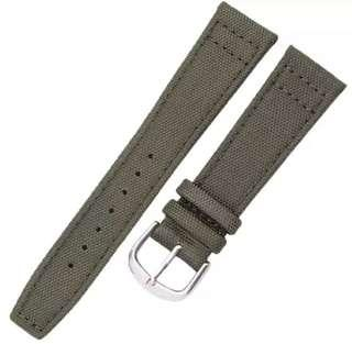 SALE 21mm Military Green Canvas Watch Straps