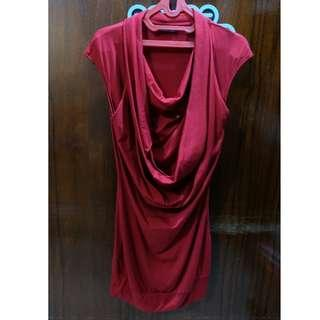 Pre-Loved Red Dress / Baju Pesta warna Merah. Baca deskripsi dibawah.