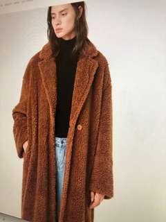 O+F Teddy Bear ling Jacket