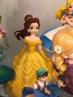 迪士尼公主 crystalux bella 貝兒