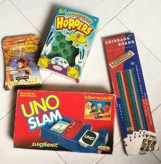 🚚 Uno slam (addictive card game ) plus 3 other free