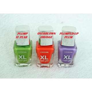 COVERGIRL  XL NAIL GEL  NAIL POLISH NET WT. 13ML (COD IS AVAILABLE)