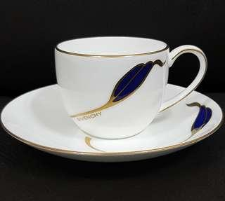 Givenchy Bone China Cup and Saucer (1 pair)